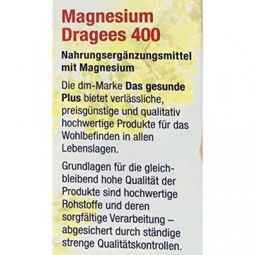 DAS gesunde Plus Magnesium Dragees 400 (60 Dragees)
