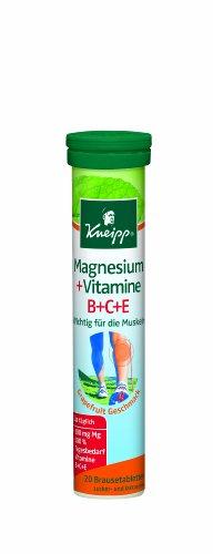 Kneipp Magnesium+Vitamine B+C+E, 20 Brausetabletten - 1