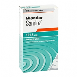 Magnesium Sandoz 121,5 mg Brausetabletten 40 stk - 1