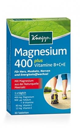 Kneipp Magnesium 400, 30 Tabletten, 1er Pack (1 x 37g) - 1